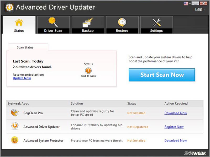 Advanced Driver Updater 4.5.1086.17605