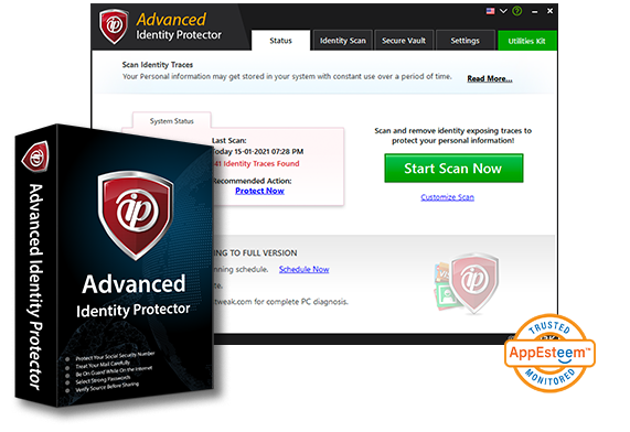 Advanced Identity Protector Deal