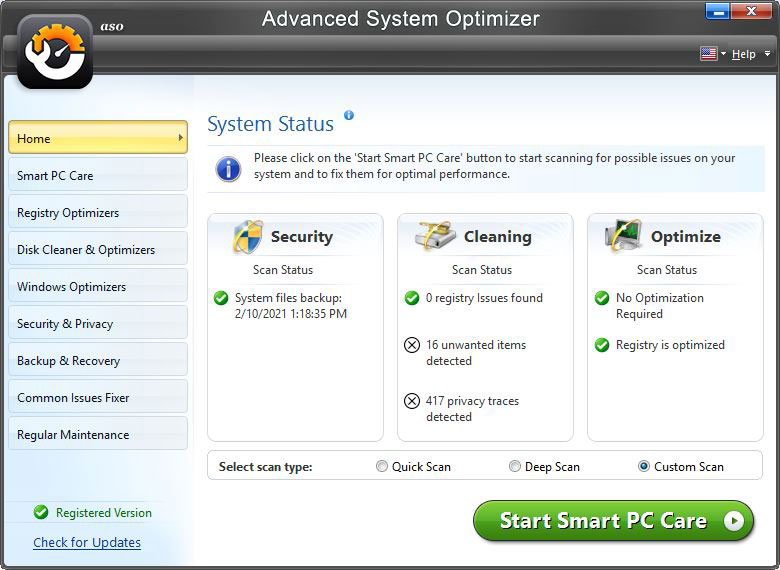 Advance System Optimizer