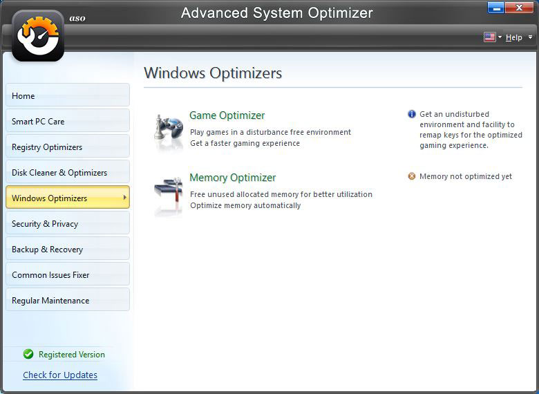 Windows Optimizers