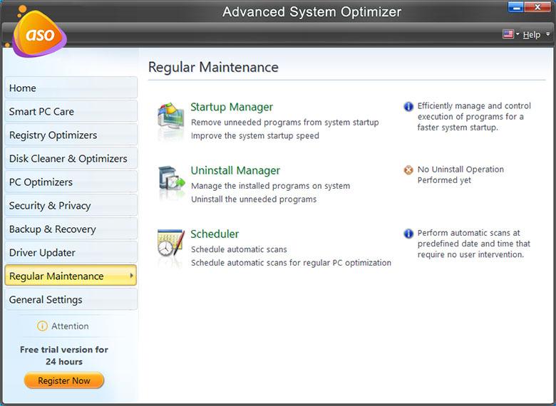 Advance System Optimizer - PC Fixer