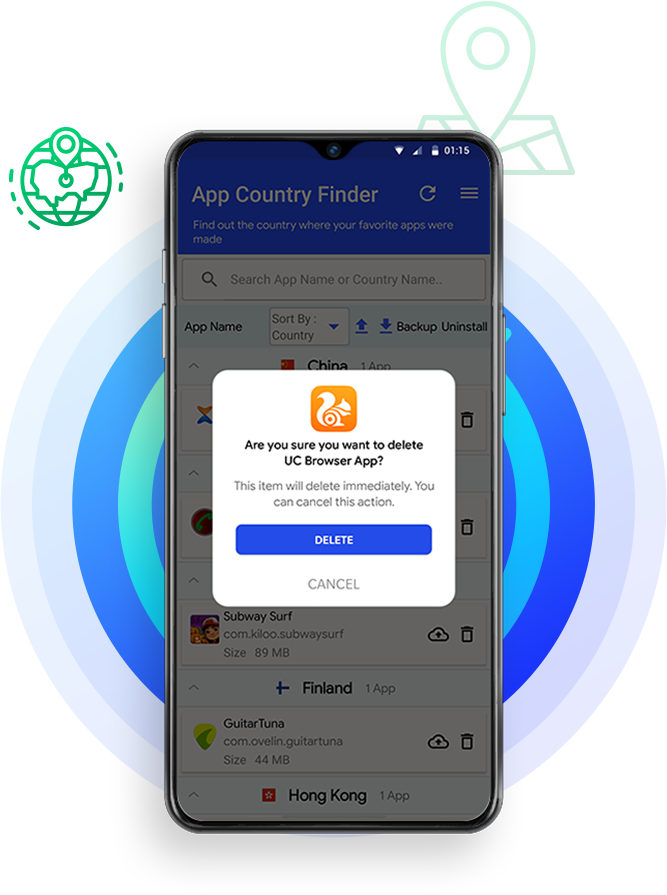 How App Country Finder & Manager