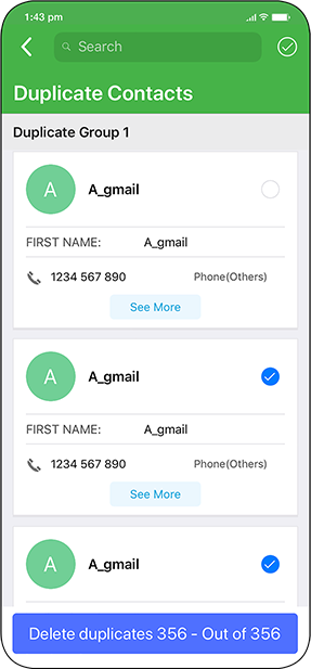 Duplicate Contacts Fixer