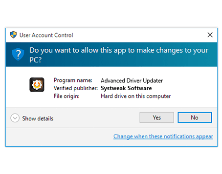 Advanced Driver Updater setup Wizard