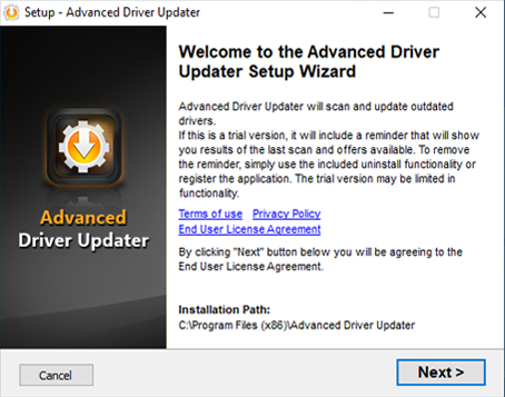 Advanced Driver Updater Permission