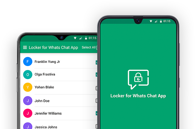 Locker for Whats Chat App