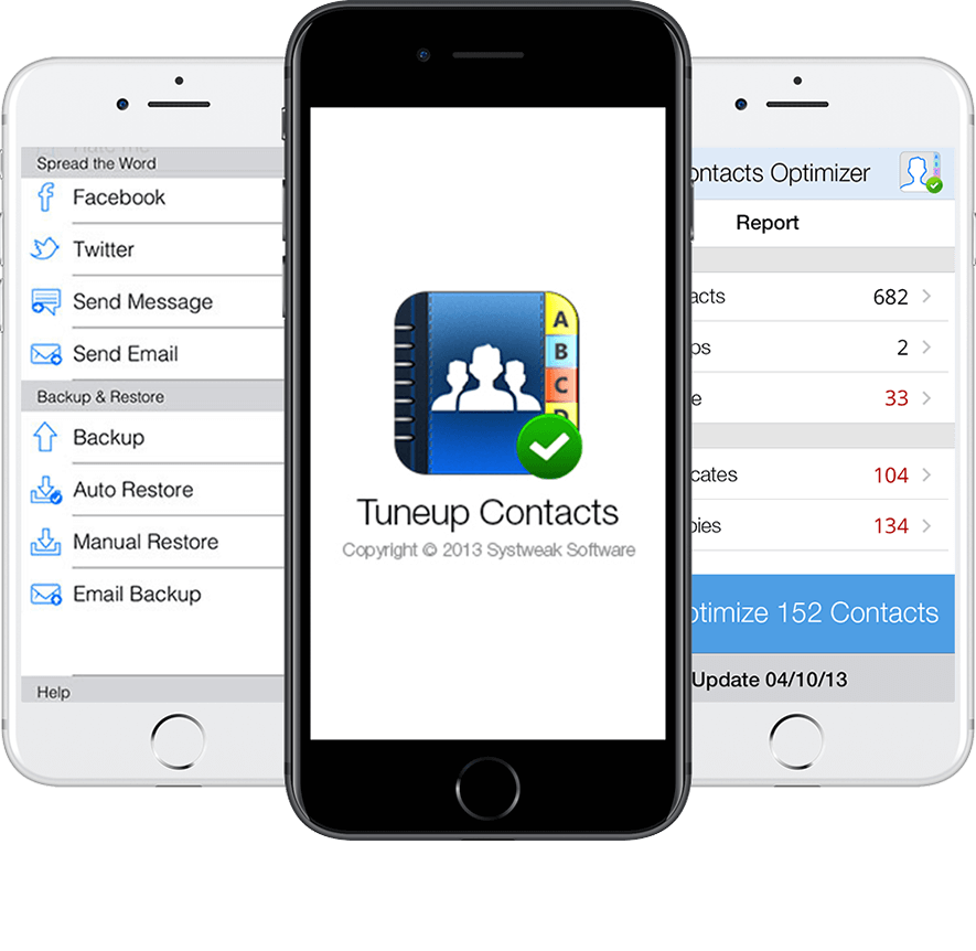 Remove duplicate contacts ios