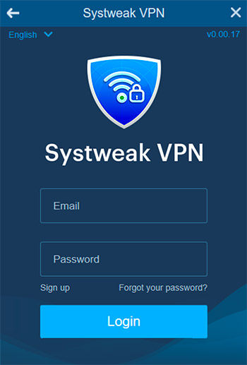 Login to your VPN account