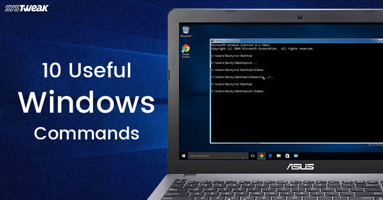 10 Useful Windows Commands