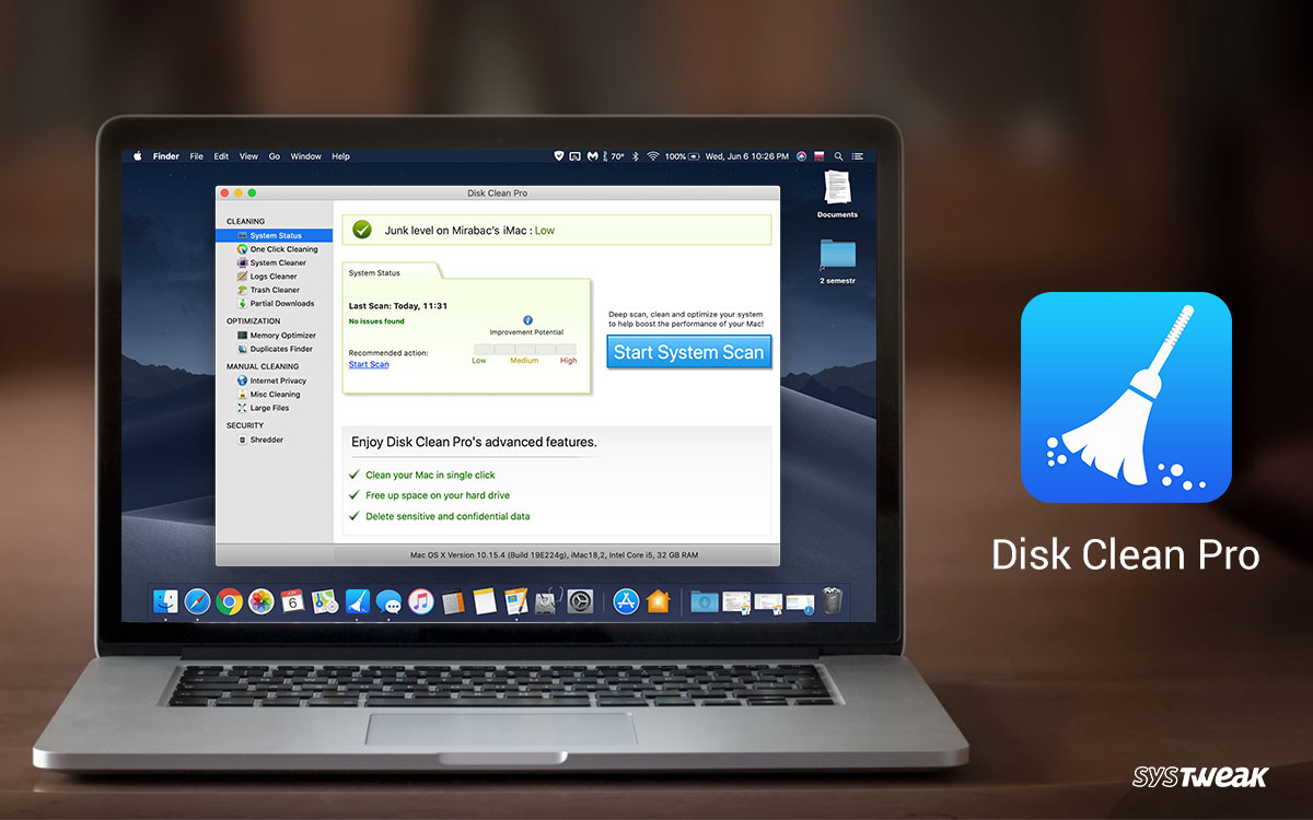 Disk Clean Pro: #1 Mac App to Clean up Your Mac in 2020