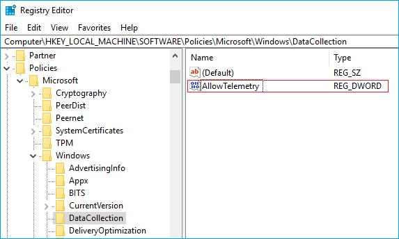 allow telemetry, windows 10 disable telemetry