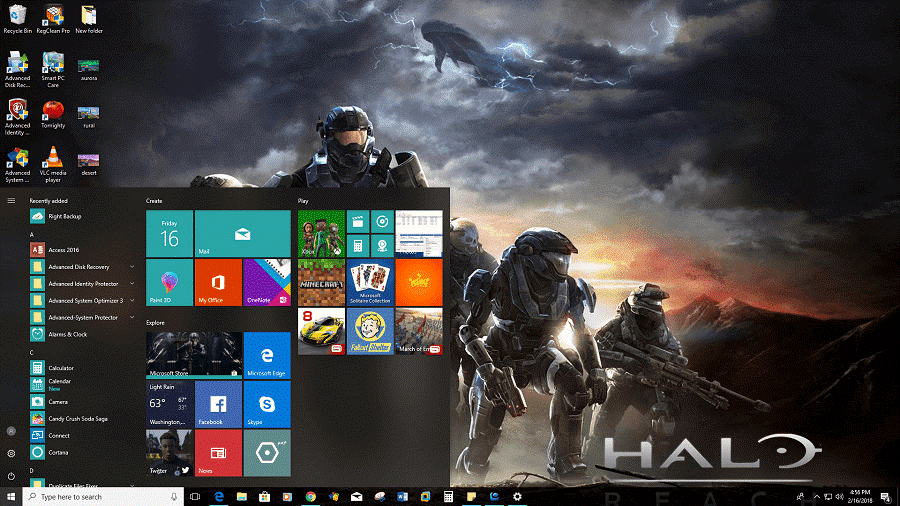free desktop themes for windows 10
