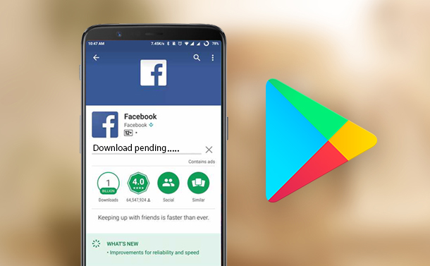 How To Fix Download Pending Error On Google Play Store