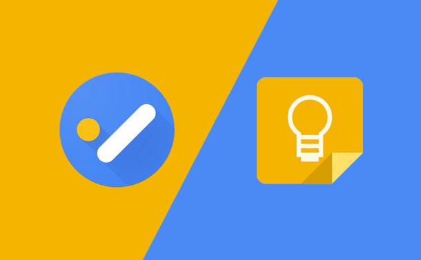 Google Tasks vs Google Keep
