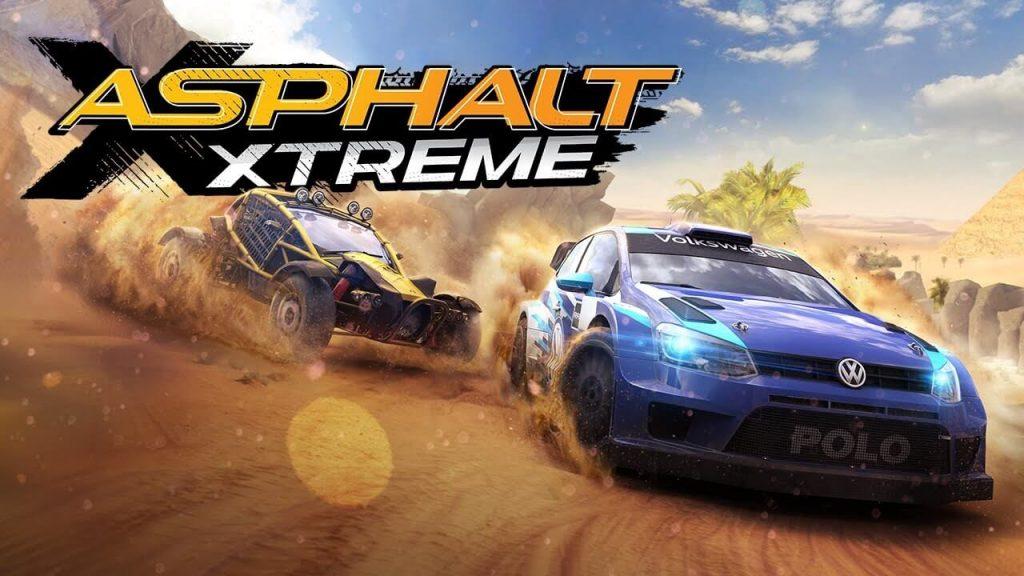 Asphalt Xtreme- game mengemudi terbaik di Android