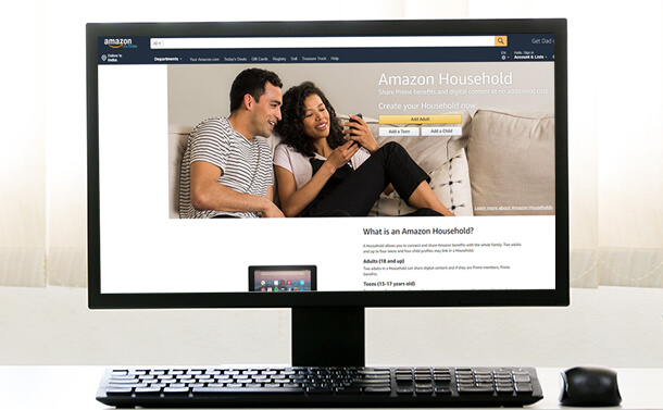 How To Use Amazon Household To Share Prime Benefits With Family Members