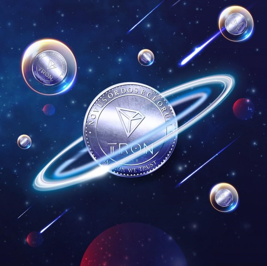 when was tron coin created