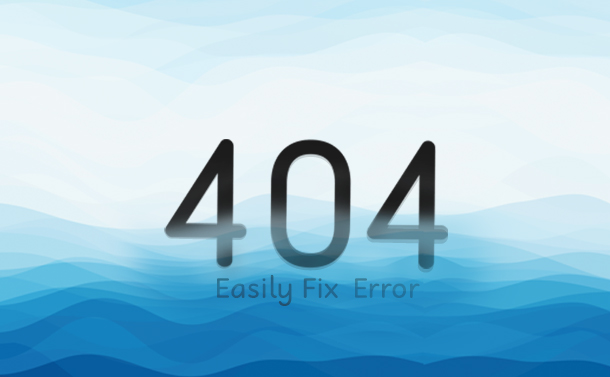 How To Resolve 404 Not Found Error