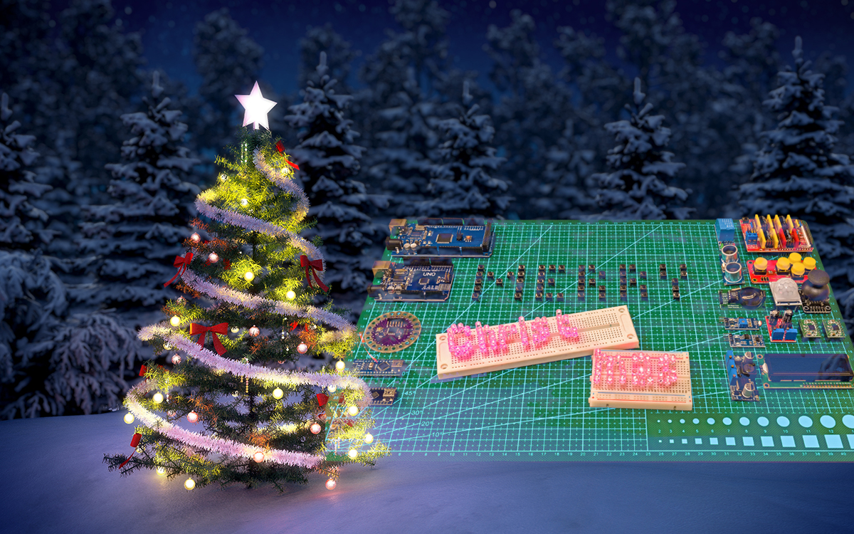 Top 8 Arduino Projects For Christmas You Can Make In A Day