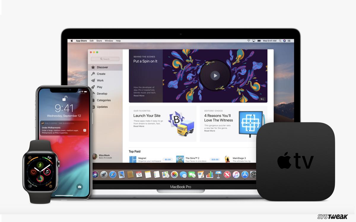 Apple Update: macOS 10.14.3, iOS 12.1.3, watchOS 5.1.3 & tvOS 12.1.2 Released