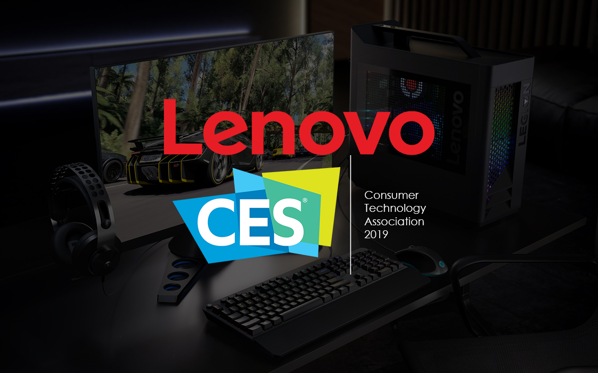 Lenovo At CES 2019: New Legion PCs, Gaming Monitors And Peripherals Unveiled