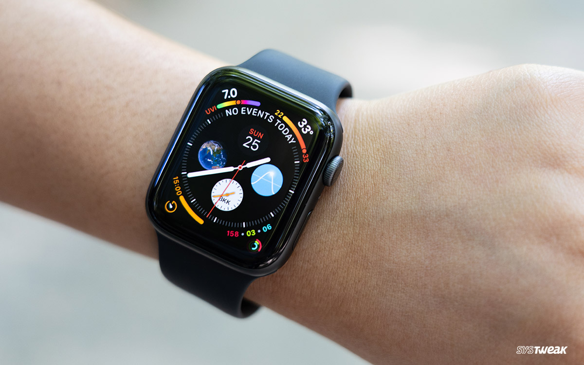 Set The Stock, World Clock and The Default Weather On Your Apple Watch Series 4