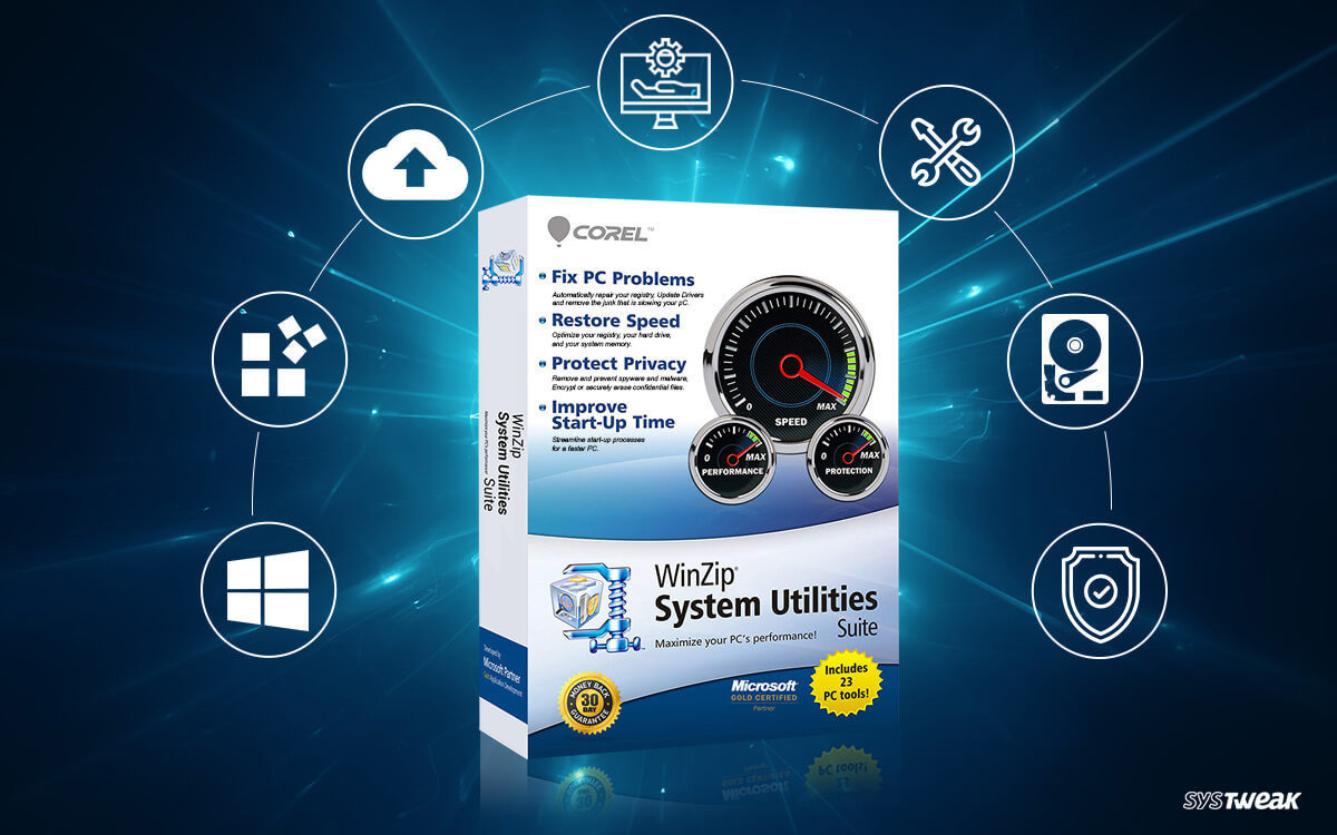 WinZip System Utilities Suite: One Stop Solution For All Your PC Needs