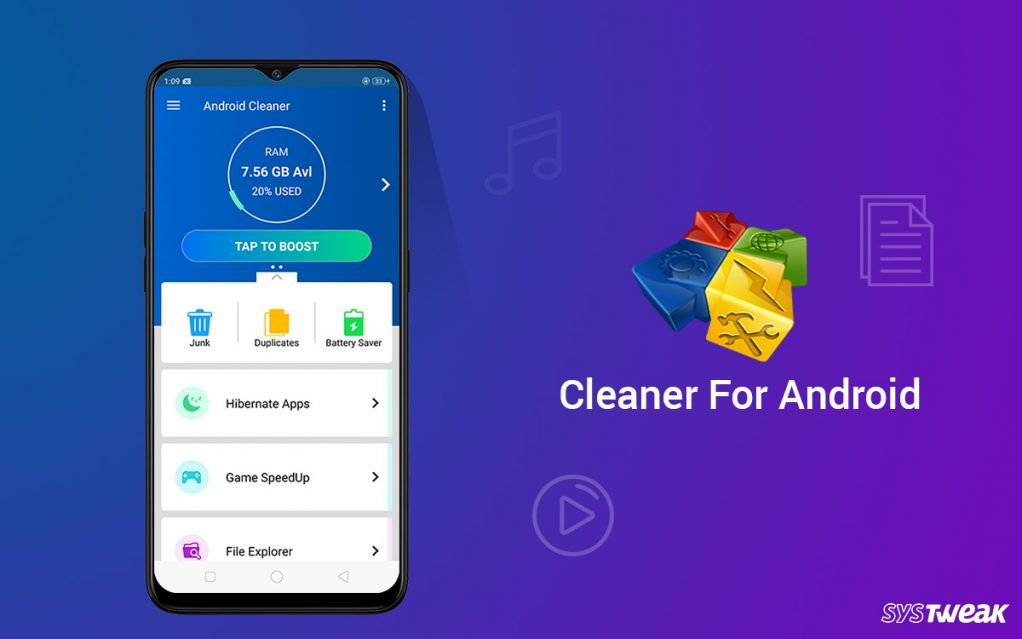 "Systweak Brings New Updates to ""Cleaner for Android"""