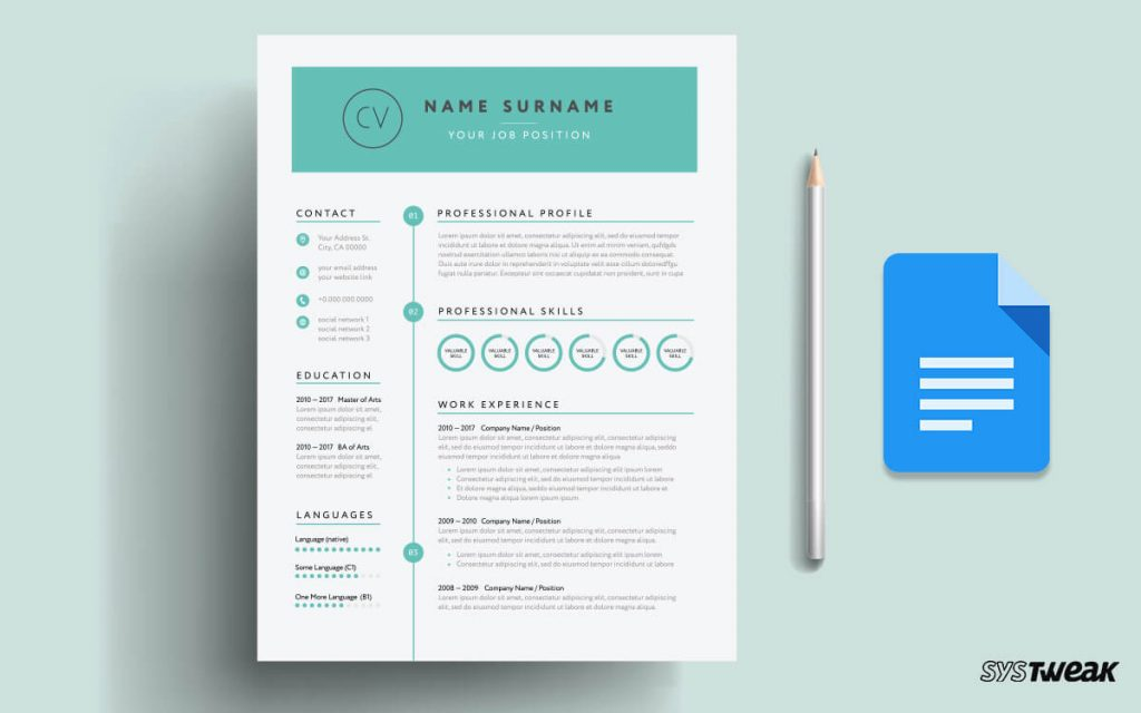 5 Best Google Docs Resume Templates And How To Use Them