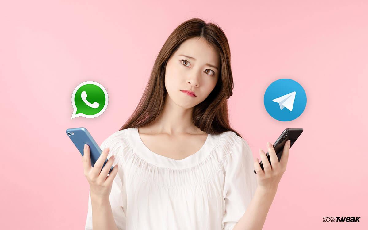 Telegram Vs WhatsApp: Which Is Secure?