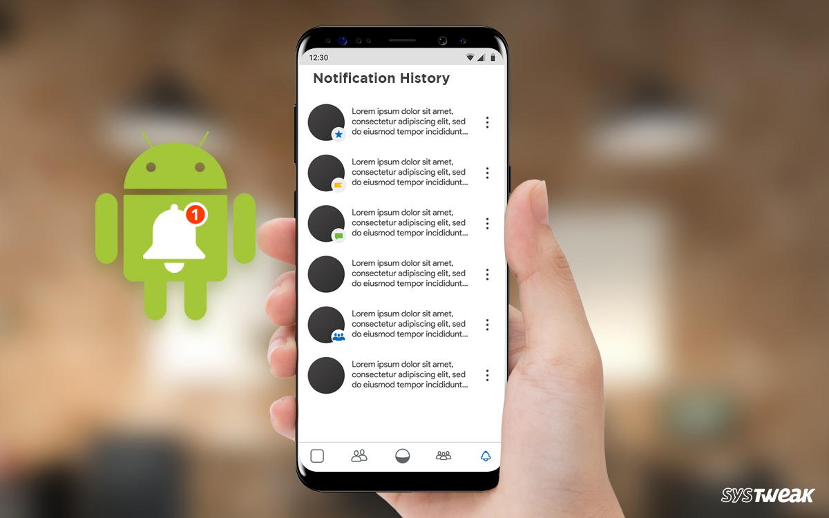 How To View Your Android Notification History Log?