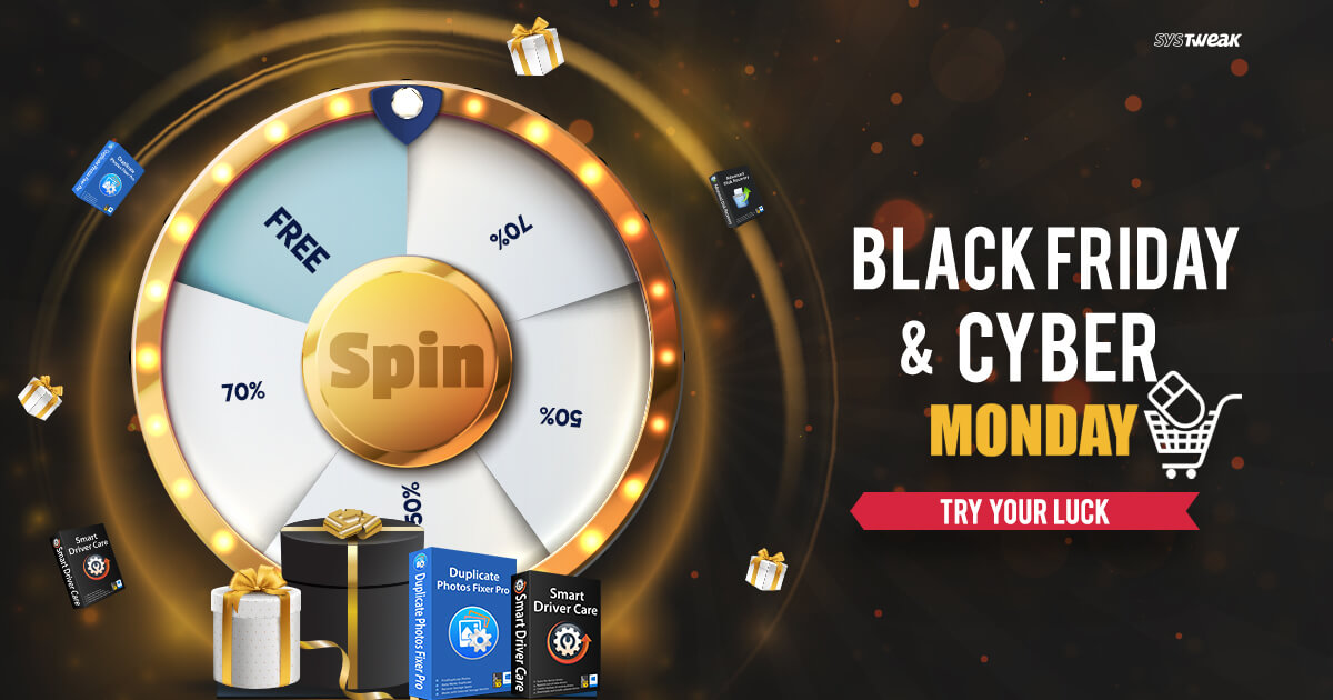 Black Friday Bonanza, Spin & Win Crazy Offers!