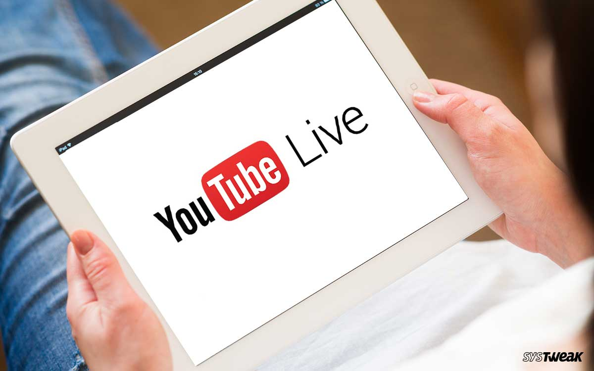 Best YouTube Live Streaming Software