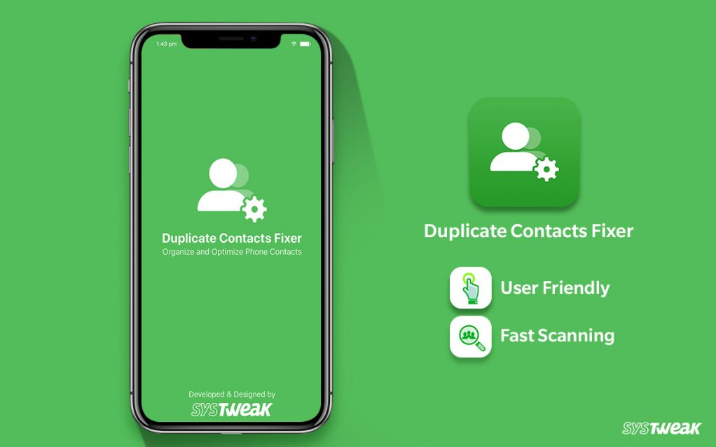 Systweak's Popular Application Duplicate Contacts Fixer Gets Upgraded For iOS Users