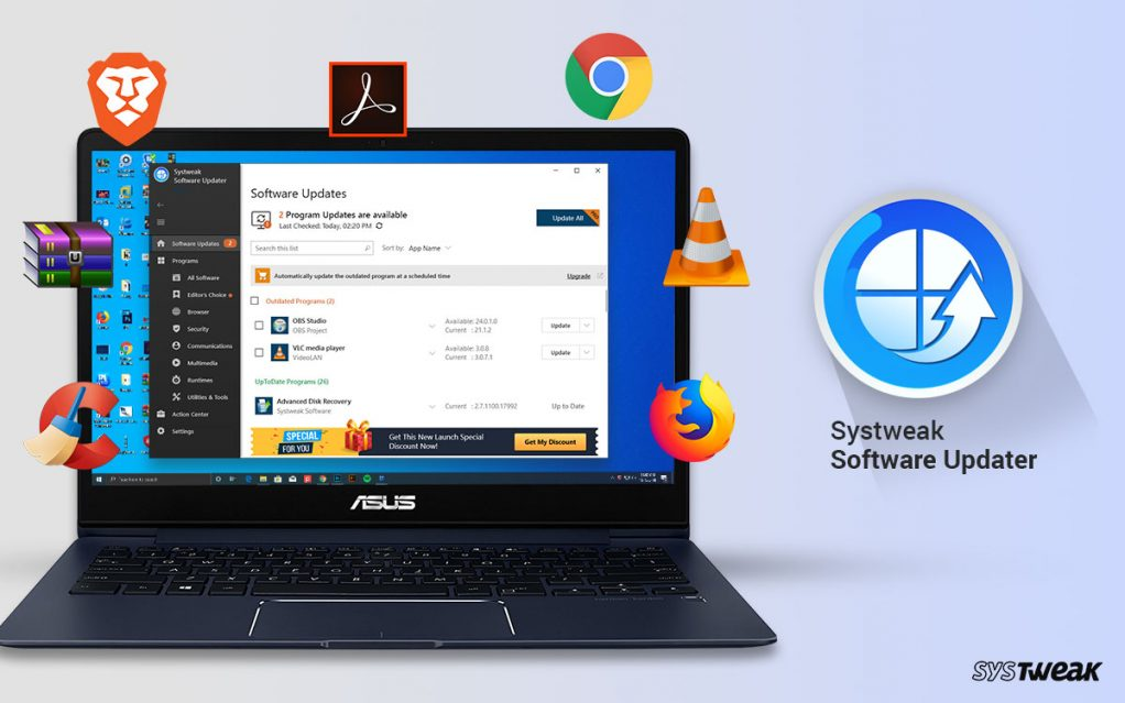 Systweak Launches Systweak Software Updater for Windows PC