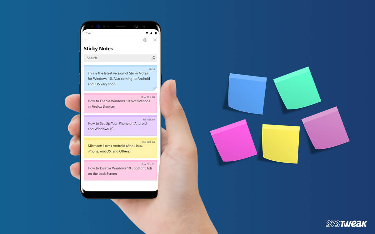 Take Your Windows 10 Sticky Notes With You Everywhere