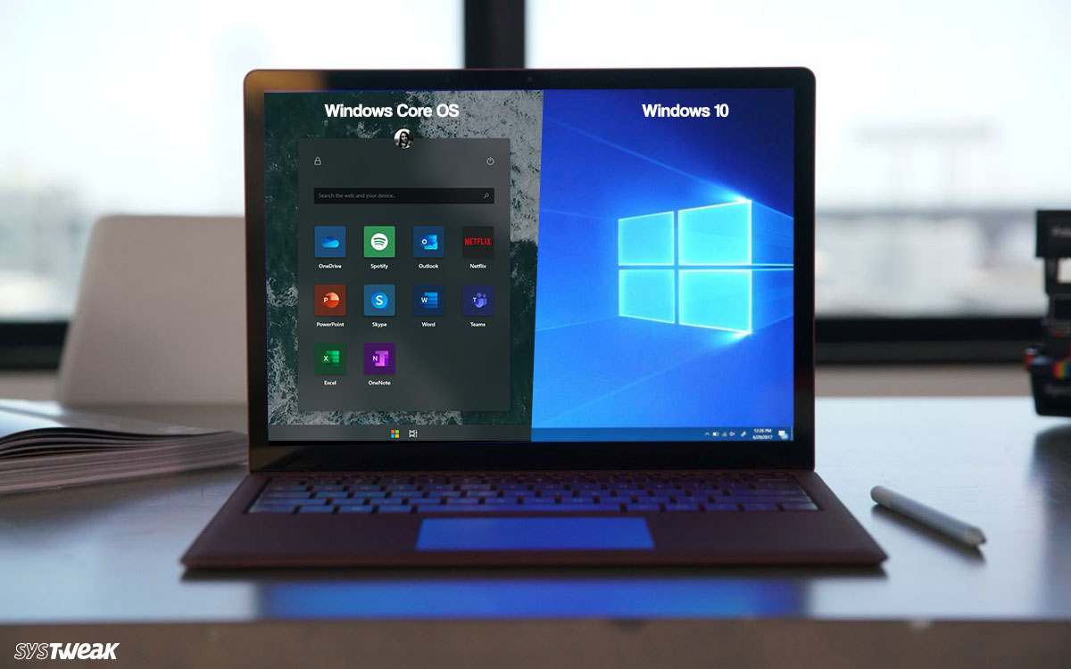 How is Windows Core OS different from Windows 10?