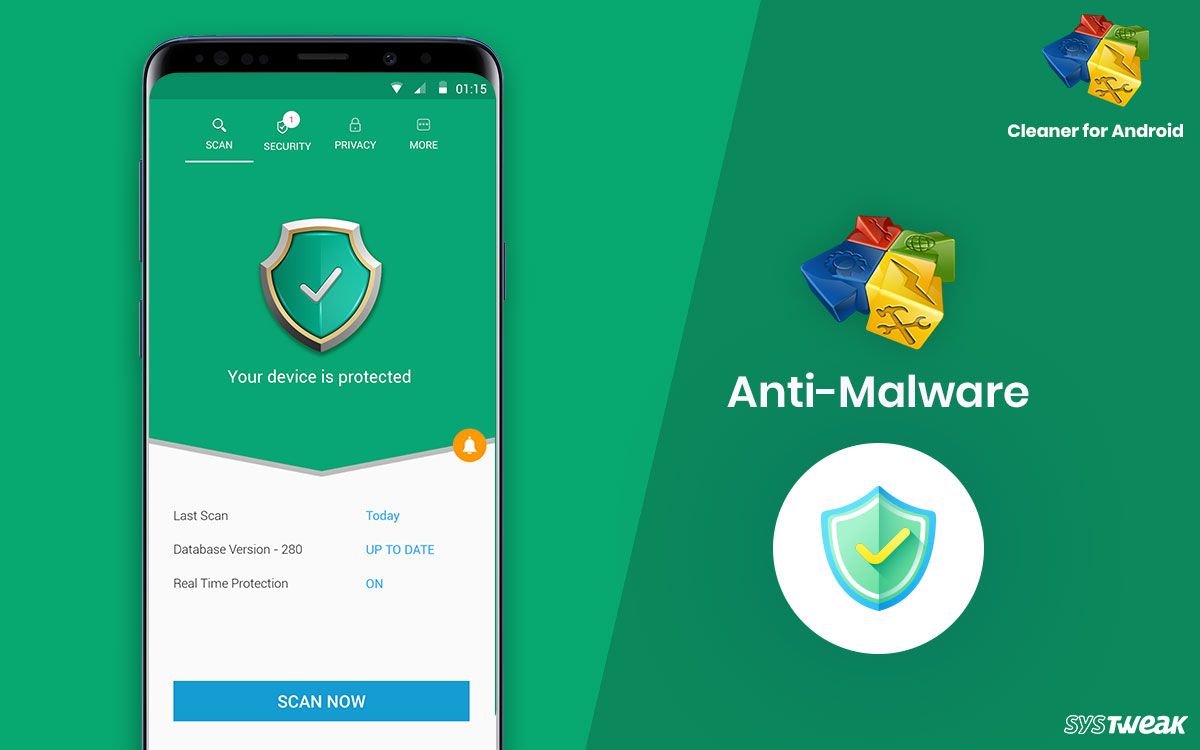 New Anti-Malware Tool Added to Cleaner for Android App