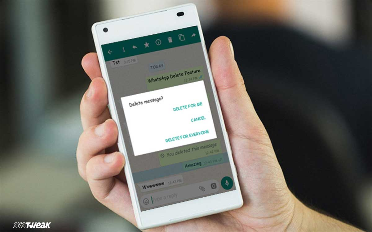 """What You Did Not Know About WhatsApp """"Delete for Everyone"""" Feature?"""