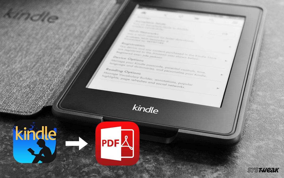 How To Convert Kindle eBook To PDF