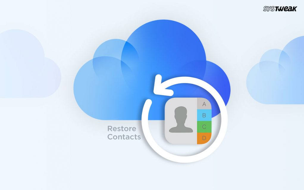 How to Restore Contacts From iCloud Backup