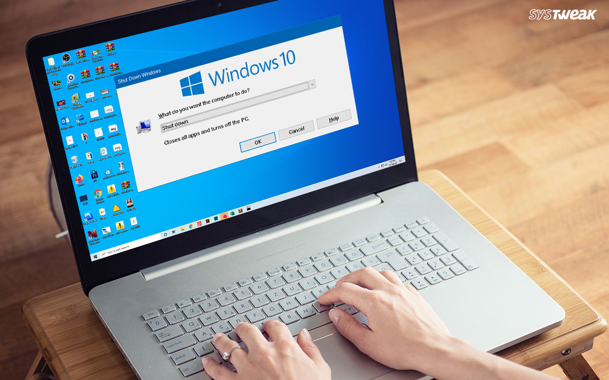 Windows 10: Shut Down Or Enable Sleep Mode With Keyboard Shortcut