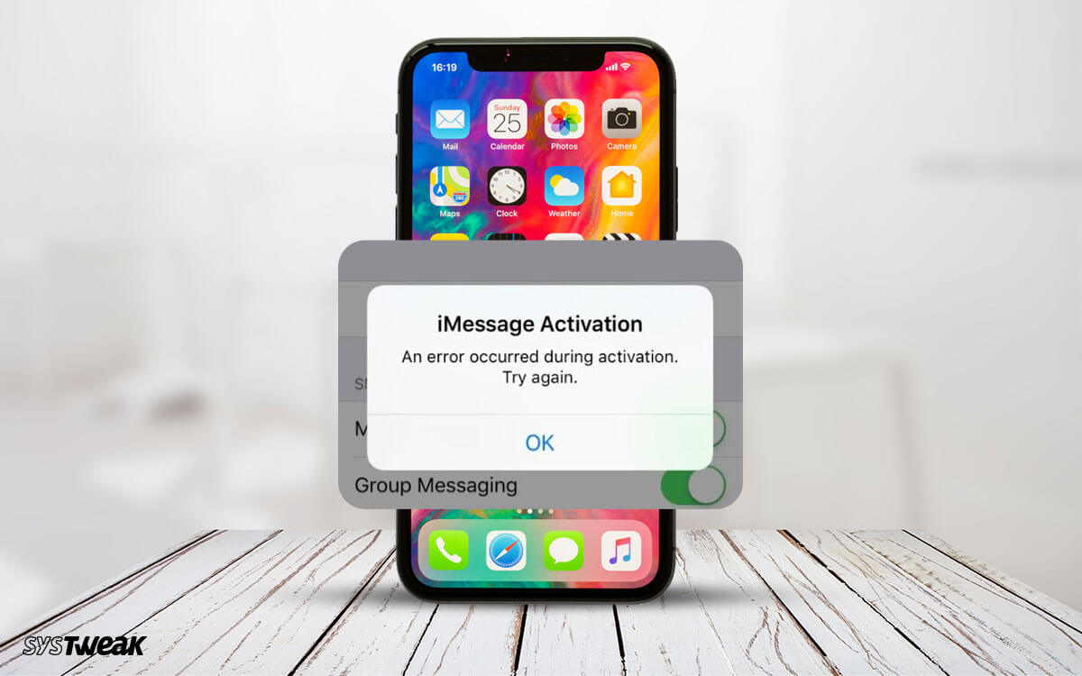 Imessage Activation Error Why How To Fix