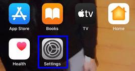 قم بتغيير اسم Bluetooth على iPhone- الإعدادات