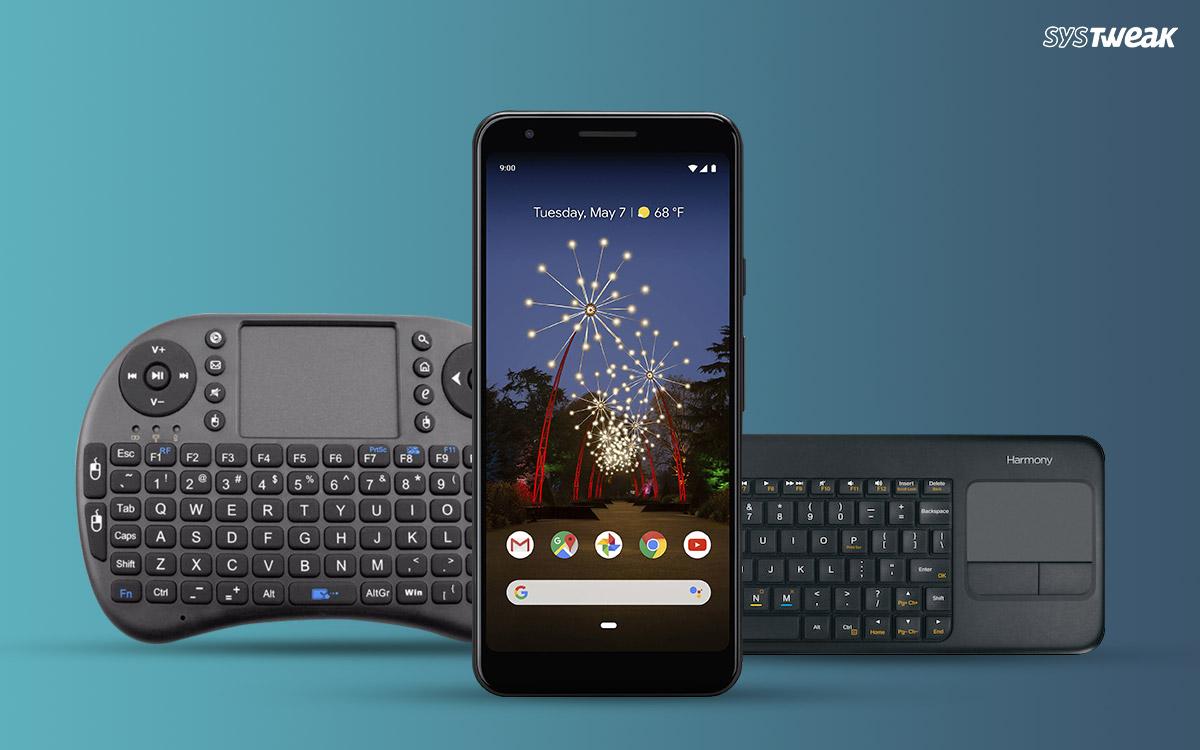 Kuinka yhdistää Bluetooth-näppäimistö Android-laitteeseen?