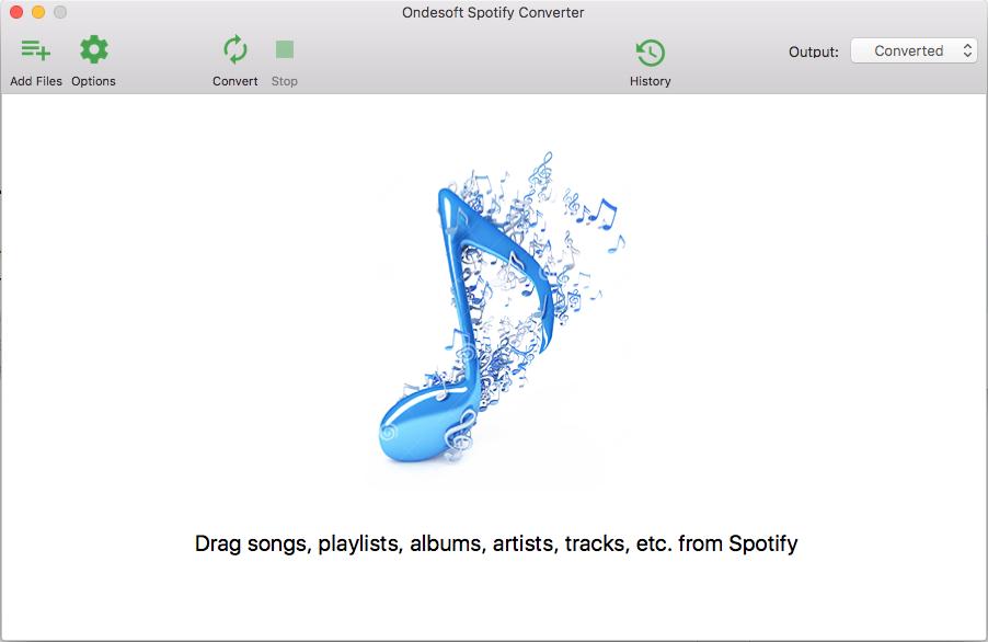 OndeSoft Spotify sang MP3 Converter cho Mac & Mac Windows