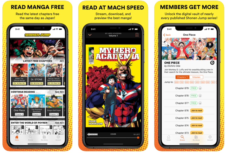Top 5 Best Manga Reader Apps For Android And iPhone – 2020