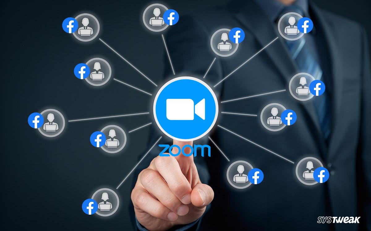 Lähennä videopuhelusovellusta jakaaksesi iOS-käyttäjän tietoja Facebook
