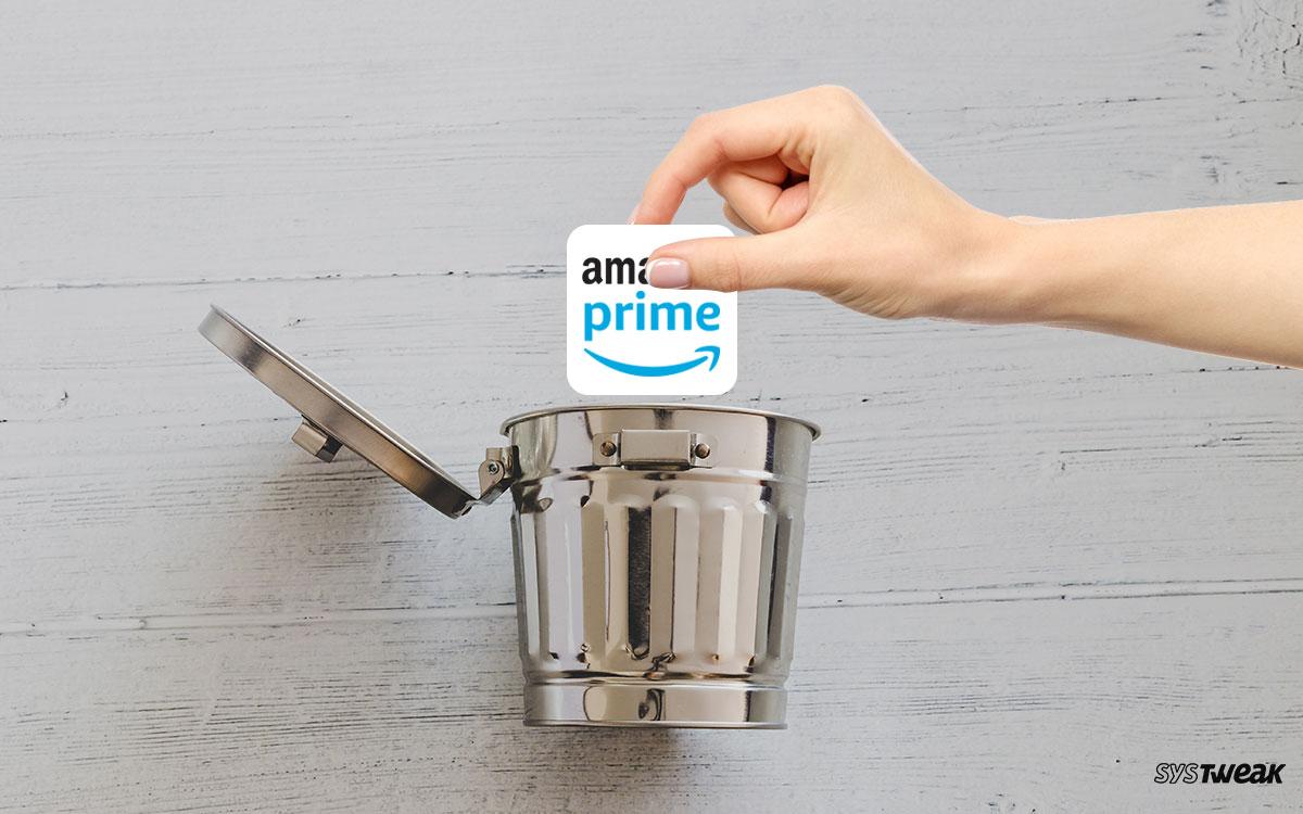 How To Delete Amazon Prime Account?