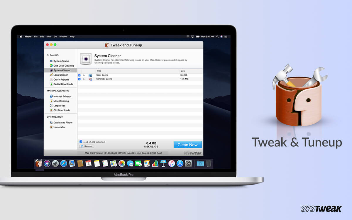 Tweak & Tuneup Has a New Menu Bar Tagging Window Now and Improved Uninstaller